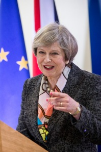 Ms Theresa May, UK's Prime Minister (Copyright: European Union)